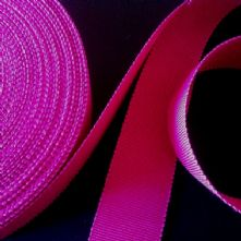 Fuchsia Pink Milliner's Petersham Ribbon in 2 Widths
